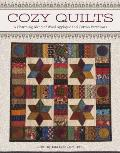 Cozy Quilts: A Charming Blend of Wool Applique and Cotton Patchwork