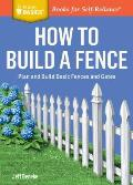 How to Build a Fence Plan & Build...