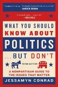 What You Should Know about Politics But Dont A Nonpartisan Guide to the Issues That Matter