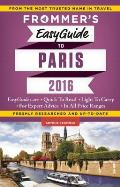 Frommers Easyguide to Paris 2016