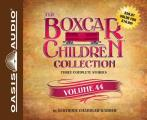 The Boxcar Children Collection Volume 44 (Library Edition): The Boardwalk Mystery, Mystery of the Fallen Treasure, the Return of the Graveyard Ghost