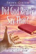 Did God Really Say That?
