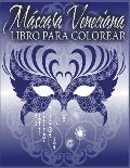 Mascara Veneciana Libro Para Colorear
