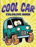 Cool Car Coloring Book