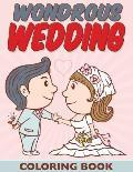 Wondrous Wedding Coloring Book