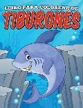 Libro Para Colorear de Tiburones