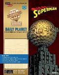 Incredibuilds: DC Comics: Superman: Daily Planet Deluxe Book and Model Set
