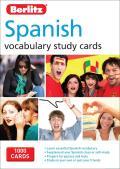 Berlitz Language Spanish Study Cards