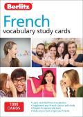 Berlitz Language French Study Cards