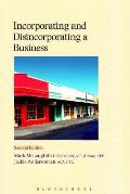 Incorporating and Disincorporating a Business - Second Edition
