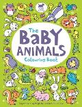 The Baby Animals Colouring Book