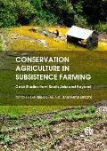 Conservation Agriculture in Subsistence Farming: Case Studies from South Asia and Beyond