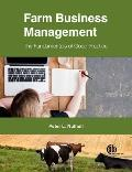 Farm Business Management: The Fundamentals of Good Practice