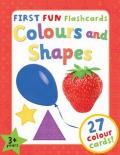 First Fun Flashcards - Colours and Shapes: Designed to Engage Toddlers Aged 3+ and Help Them to Learn a
