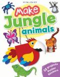 Make Jungle Animals: 15 Projects, Poster, Stickers