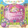 Sticker Playbook Princess Carriage: A Fold-Out Story Activity Book for Toddlers