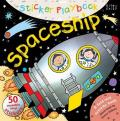 Sticker Playbook Spaceship: A Fold-Out Story Activity Book for Toddlers