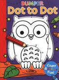 Bumper Dot to Dot Owl and More: Counting & Colouring Fun!