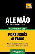 Vocabulario Portugues-Alemao - 7000 Palavras Mais Uteis