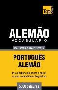 Vocabulario Portugues-Alemao - 5000 Palavras Mais Uteis