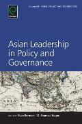 Asian Leadership in Policy and Governance