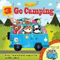3 Go Camping: Press Out and Build Camper Van and Storybook