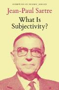 What Is Subjectivity?