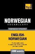 Norwegian Vocabulary for English Speakers - 5000 Words