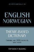 Theme-Based Dictionary British English-Norwegian - 5000 Words