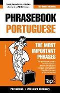 English-Portuguese Phrasebook and 250-Word Mini Dictionary