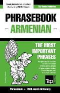English-Armenian Phrasebook and 1500-Word Dictionary