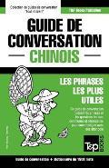 Guide de Conversation Francais-Chinois Et Dictionnaire Concis de 1500 Mots