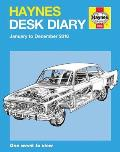 Haynes Desk Diary January to December 2016: One Week to View