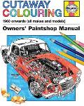 Cutaway Colouring 1960 onwards all makes & models