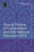 Annual Review of Comparative and International Education 2015