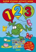 Super Sticker Activity Book - 123: With 50 Reusable Stickers, Wipe-Clean Worksheet and Free Wal