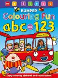 My First Bumper Colouring Fun ABC and 123: Copy Colouring Alphabet and Counting Fun!