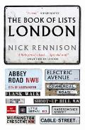Book of Lists: London