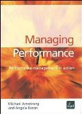 Managing Performance: Performance Management in Action