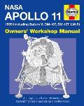 NASA Apollo 11 Owners Workshop Manual 1969 Including Saturn V CM107 SM 107 LM 5 NASA MISSION AS 506