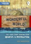 A Wonderful World: Five Youth Group Sessions on Genesis to Revelation
