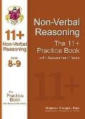 11+ Nonverbal Reasoning Practice Book With Assessment Tests (Ages 8-9)
