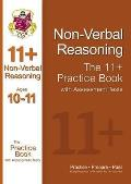 11+ Nonverbal Reasoning Practice Book With Assessment Tests (Ages 10-11)