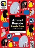Animal Parade: Puzzle Book - With a 6 Piece Floor Puzzle!