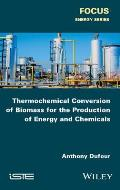 Thermochemical Conversion of Biomass for the Production of Energy and Chemicals