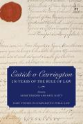 Entick v Carrington - 250 Years of the Rule of Law