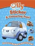 Olly's Sticker & Colouring Book: Olly the Little White Van