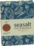 Sea Salt Shells & Flowers Mini Flip-Top Notebooks (Sea Salt Shells & Flowers)