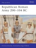 Republican Roman Army 200 104 BC