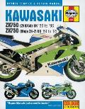 Kawasaki ZX750 Ninjas 2x7 and Zxr 750